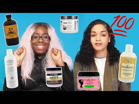 We Try A 100 Product Challenge 💆🏾💯