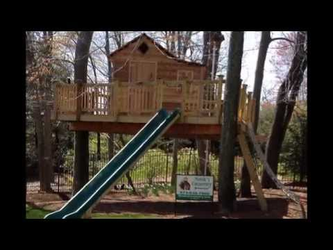 Custom-Built Tree House by Monk's Home Improvements
