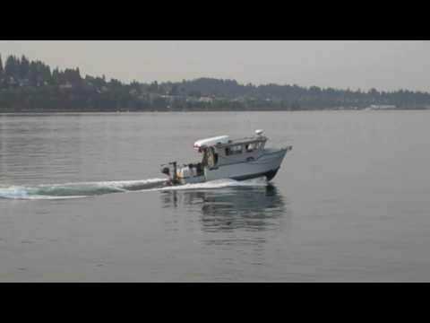 Alaska 27' Custom Aluminum Boat in Bay
