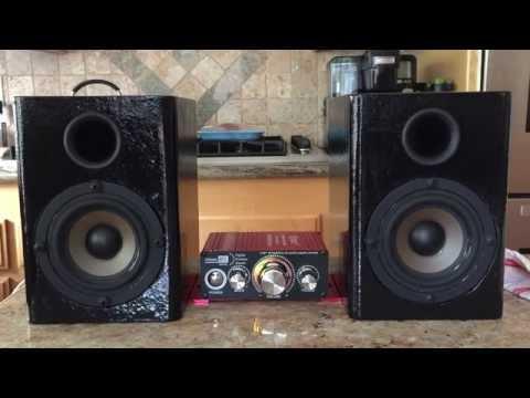 DIY Desktop Speakers
