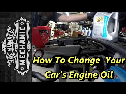 How To Change Your Car's Engine Oil