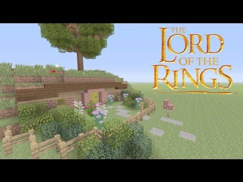 How To Build A Hobbit Hole in Minecraft - Lord of the Rings Builds - Building Middle Earth