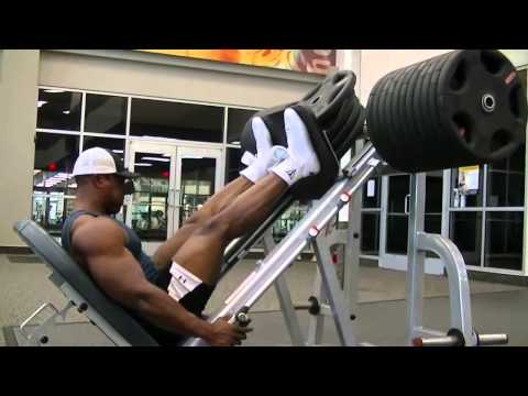 Training Legs with Lawrence Ballenger