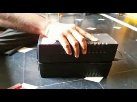 How to change UPS Battery - Telugu