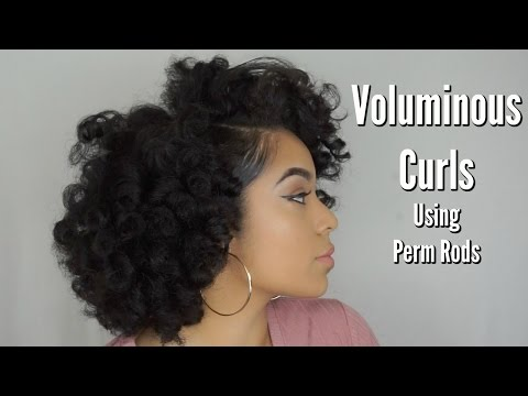 Voluminous Curls! | Detailed Perm Rod Set | Perfect for Beginners