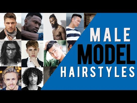 Best Hairstyles For Men Photos | Male Model Hairstyles