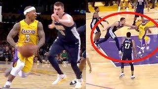 Isaiah Thomas Left Jokic in Dust   Lakers Crush Nuggets (Random Moments)