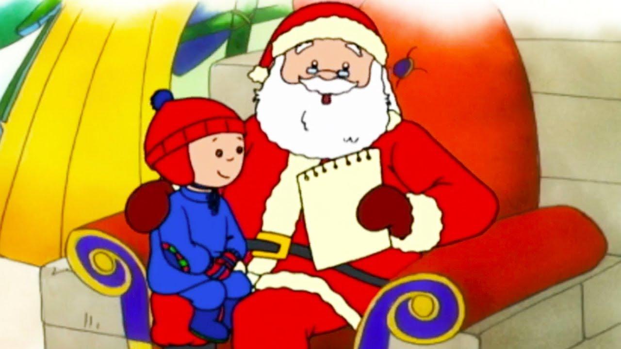 Caillou und der Weihnachtsmann | Caillou auf Deutsch