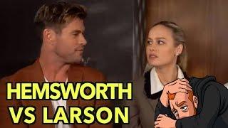 Chris Hemsworth Vs Brie Larson: My Thoughts
