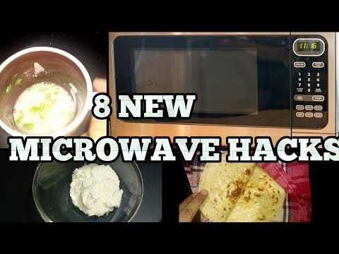 8 NEW Microwave HACKS to make your life EASIER!! Microwave Tips and Tricks-Food Hacks