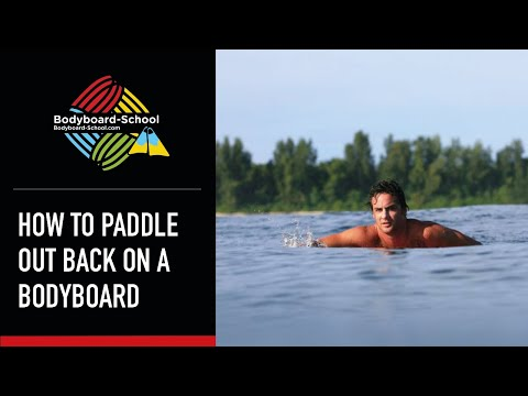 How To Paddle Out Back For A Bodyboard Session - Bodyboard School