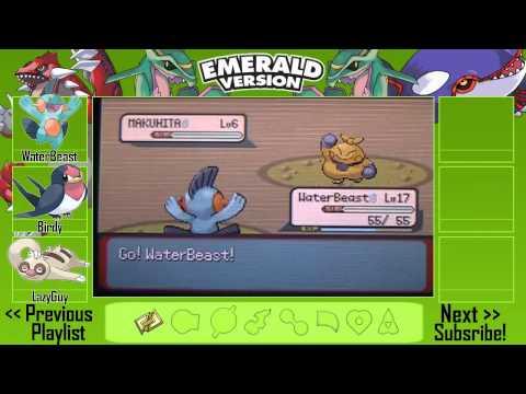 Pokémon Emerald Walkthrough Part 6 - Dewford Town! (HD)