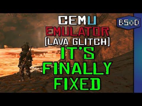 Cemu Emulator   New Graphics Packs   Broken Lava Fixed