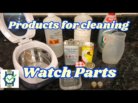 Products For Cleaning Watch Parts