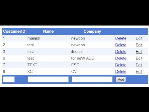 gridview insert update delete in asp.net
