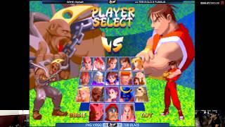 Fightcade [HD] - Ojou (JPN) vs  BeastK (KOR) - Street