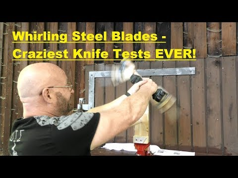 Most Dangerous Fixed Blades Review Ever?