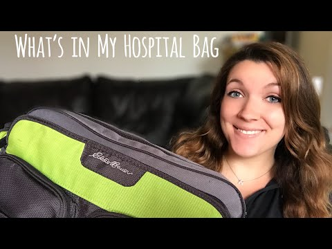 What's in My Hospital Bag (Baby Edition)   Cara Michelle