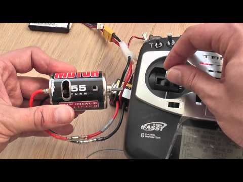 RC VSC 320A Brushed Speed Control ESC For 1/8 1/10 Car