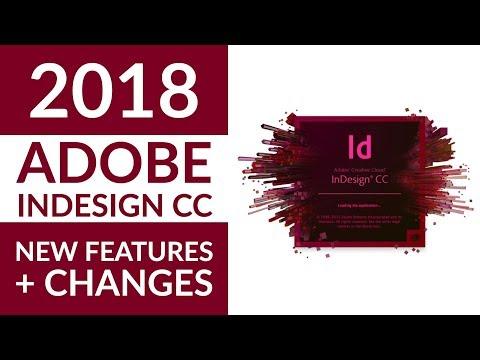 New Adobe InDesign CC 2018 Features