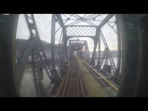 Metro North Hudson Line - DV to Yonkers Rear View (GoPro)