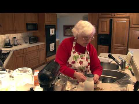 Nana's Incredible oatmeal toffee cookies