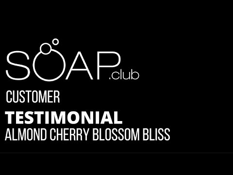 #SoapDotClub Almond Cherry Blossom Bliss Natural Soap Review