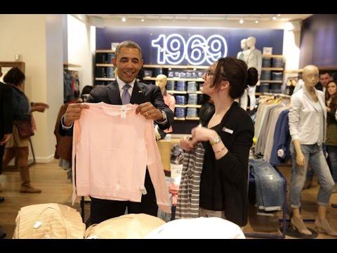 Mr President's shopping
