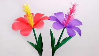 How To Make Sunflower Paper Flower Craft Tutorial 7