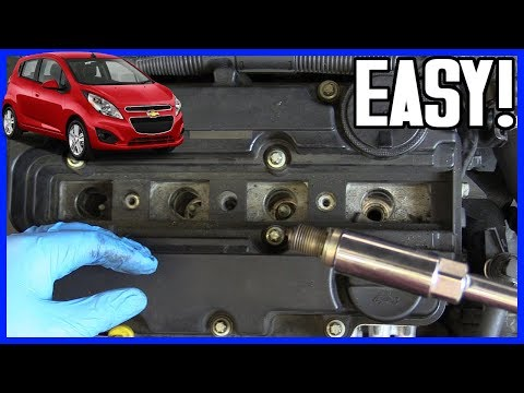 How to Replace Spark Plugs Chevrolet Sonic 1.4L Gasoline 2009-2015