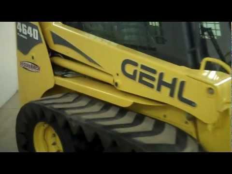 SOLD! - MN Gehl 4640 skid steer loader.  LOW HOURS! Tracks! Jeff at Tri-State Bobcat 715-781-3940