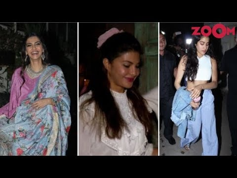 Sonam, Jacqueline & Janhvi Look Fashionable As They Make Their Appearances At Different Places
