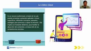 VIDEO EDUCATIVO Y VIDEO CLASE