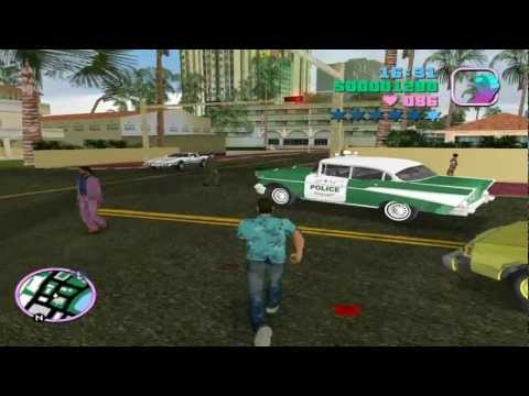 GTA Vice City + Maxo's Vehicle Loader, Part 1 - More cars on the streets *Turn on annotations*