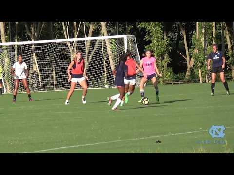 UNC Camp  vs. UNC Womens Team