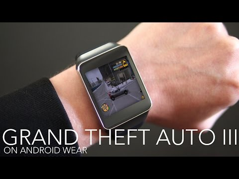 Grand Theft Auto III on Android Wear