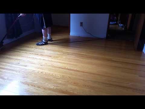 Wax on, wax off, repeat. 50 year old hardwood.