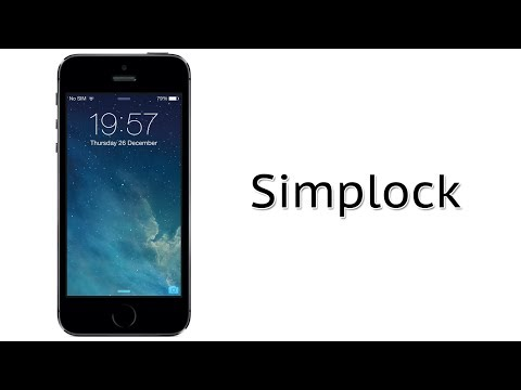 Remove The Slide to Unlock Text on iOS 7 | Simplock Cydia Tweak Review