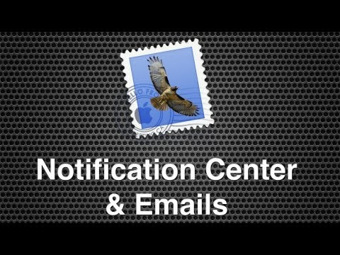 Setting Up Notification Centre To Receive Notifications From Select Emails