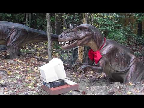 😁  Dinosaurs ALIVE! - Kings Dominion - (NEW) 2017  ✅