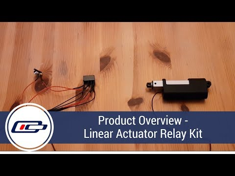 Product Overview - Linear Actuator Relay Kit