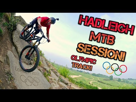 HADLEIGH MTB SESSION! (olympic track)
