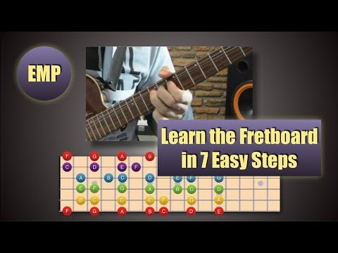 Learn the Fretboard in 7 Steps (Guitar Lessons) @EffectiveMusicPractice