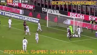 Milan vs Cagliari 1 0 le highlights e il gol di BACCA  HD