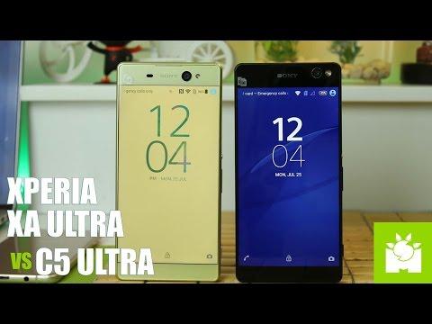 Sony Xperia XA Ultra vs Xperia C5 Ultra Review + Camera