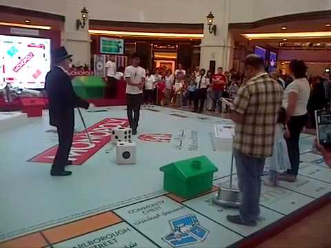 Monopoly Game in Real Life Size in Dubai