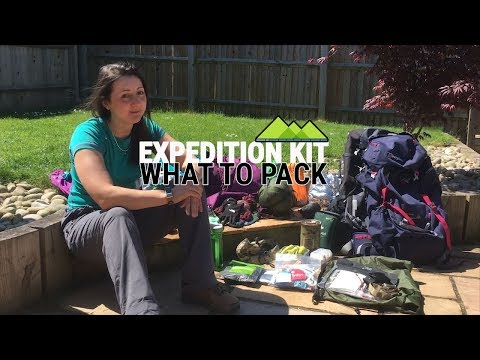 Expedition Kit List - What To Pack for DofE/Exped/Multi-Day