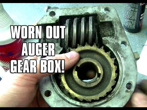 Snowblower Auger Gear Box Maintenance Tips