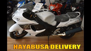 Taking Delivery Of Hayabusa 2017 || Showroom Overview