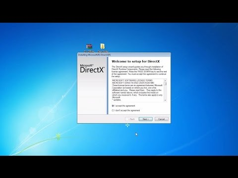 Directx offline installer Easy 2016